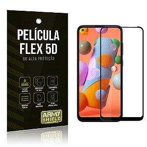 Película Flex 5D Cobre a Tela Toda Blindada Galaxy A11 - Armyshield