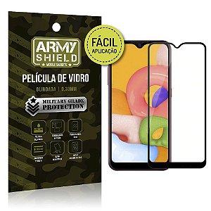Película de Vidro 3D de Fácil Aplicação Galaxy A01 - Armyshield