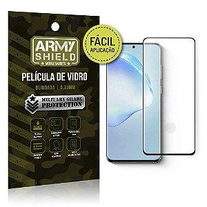 Película de Vidro 3D de Fácil Aplicação Galaxy S20 Ultra- Armyshield