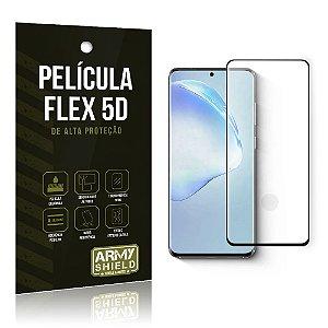 Película Flex 5D Cobre a Tela Toda Blindada Galaxy S20 Ultra- Armyshield