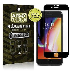 Película de Vidro 3D Fácil Aplicação iPhone SE 2020 - Armyshield