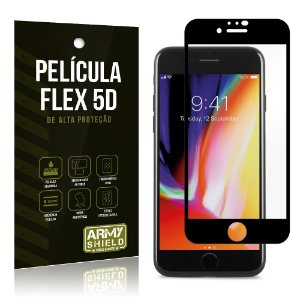 Película Flex 5D Cobre a Tela Toda Blindada iPhone SE 2020 - Armyshield