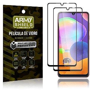 Kit 2 Películas de Vidro Blindada 3D Full Cover Galaxy A31 - Armyshield
