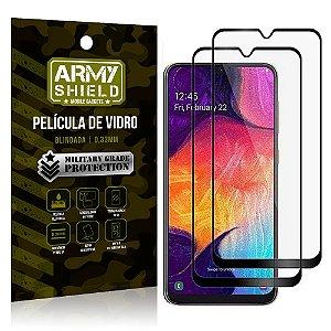 Kit 2 Películas de Vidro Blindada 3D Full Cover Galaxy A50 - Armyshield