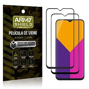 Kit 2 Películas de Vidro Blindada 3D Full Cover Galaxy M10 - Armyshield