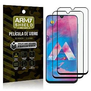 Kit 2 Películas de Vidro Blindada 3D Full Cover Galaxy M30 - Armyshield