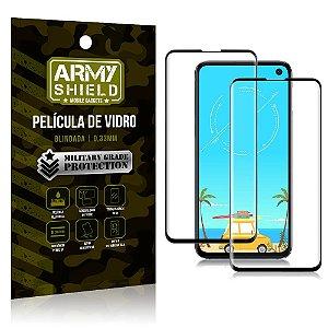 Kit 2 Películas de Vidro Blindada 3D Full Cover Galaxy S10e - Armyshield