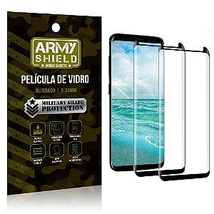 Kit 2 Películas de Vidro Blindada 3D Full Cover Galaxy S8 - Armyshield