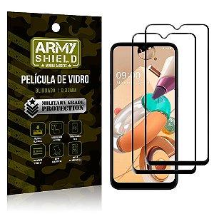 Kit 2 Películas de Vidro Blindada 3D Full Cover LG K41s - Armyshield
