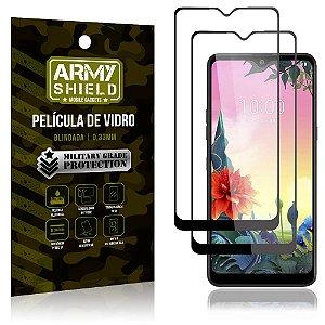 Kit 2 Películas de Vidro Blindada 3D Full Cover LG K50s - Armyshield