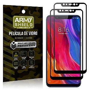 Kit 2 Películas de Vidro Blindada 3D Full Cover Mi 8 Pro - Armyshield