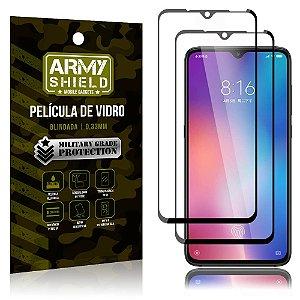 Kit 2 Películas de Vidro Blindada 3D Full Cover Mi 9 - Armyshield