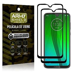 Kit 2 Películas de Vidro Blindada 3D Full Cover Moto G7 Plus - Armyshield