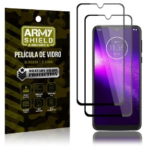 Kit 2 Películas de Vidro Blindada 3D Full Cover Moto One Macro - Armyshield