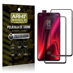 Kit 2 Películas de Vidro Blindada 3D Full Cover Redmi K20 Mi 9T - Armyshield