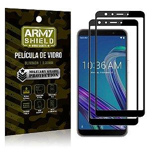 Kit 2 Películas de Vidro Blindada 3D Full Cover Zenfone Max Pro M1 ZB602KL - Armyshield