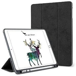 Capa Smart Cover iPad 10.2 7a Geração com Suporte Pencil
