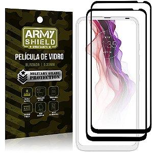 Kit 2 Películas de Vidro Blindada 3D Moto One Fusion Plus - Armyshield
