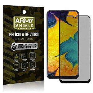 Película de Vidro 3D Privacidade Galaxy A20 - Armyshield
