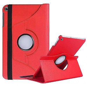 Capa Giratória Vermelha para Tablet Galaxy Tab S5e 10.5' T725 - Armyshield