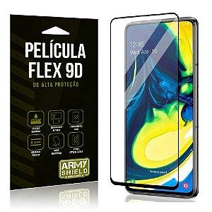 Película Flex 9D Cobre a Tela Toda Blindada Galaxy A80 - Armyshield