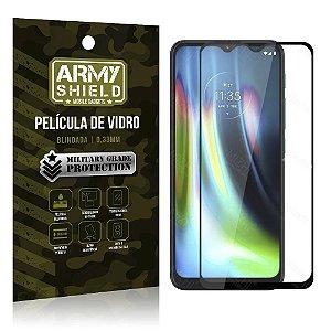 Película de Vidro 3D Cobre a Tela Toda Blindada Moto G9 Play - Armyshield