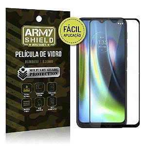 Película de Vidro 3D Fácil Aplicação Moto G9 Play - Armyshield