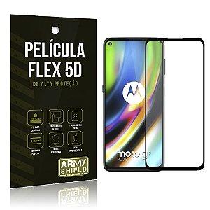Película Flex 5D Cobre a Tela Toda Blindada Moto G9 Plus - Armyshield