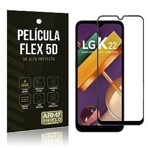 Película Nano Flex 5D LG K22 Não trinca - Armyshield