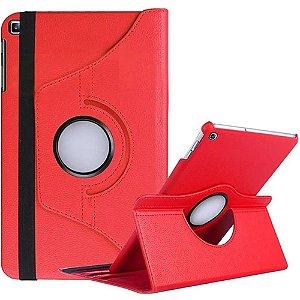 Capa Giratória Vermelha para Tablet Galaxy Tab A 8.0' T290 T295 - Armyshield