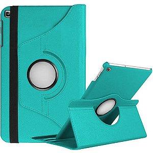 Capa Giratória Turquesa para Tablet Galaxy Tab A 8.0' T290 T295 - Armyshield