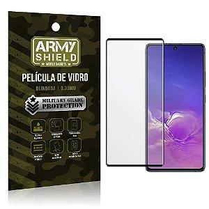 """Película de Vidro 3D para S10 Lite 6,7"""" Full Cover - Armyshield"""