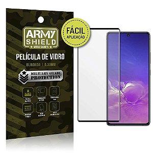 "Película Blindada para Galaxy S10 Lite 6,7"" Fácil aplicação - Armyshield"