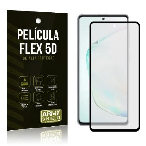 "Película NanoFlex 9D para Galaxy Note 10 Lite 6,7"" Pelicula Indestrutivel - Armyshield"