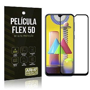 Película Flex 5D Cobre a Tela Toda Blindada Galaxy M31 - Armyshield