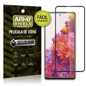 Película de Vidro 3D para Samsung S20 FE Fácil de aplicação - Armyshield