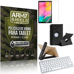 Kit Suporte Dobrável  Tab A 10.1' T515/T510 + Teclado sem fio + Capa + Película Armyshield
