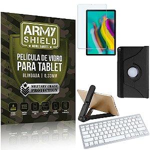 Kit Suporte Dobrável  Tab S5e 10.5' T725 + Teclado sem fio + Capa + Película Armyshield