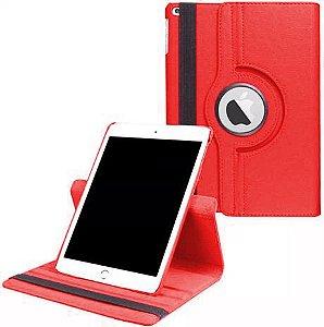 Capa Giratória iPad 10.2' 7a e 8a Geração Vermelha - Armyshield