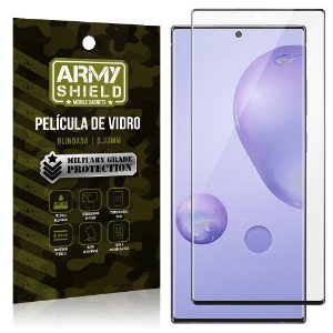 "Película de Vidro Blindada para Galaxy Note 20 Ultra tela 6,9"" Full Cover - Armyshield"