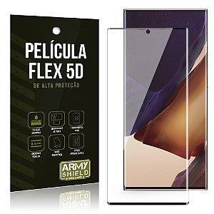 Película Flex 5D Cobre a Tela Toda Blindada Galaxy Note 20 Ultra - Armyshield
