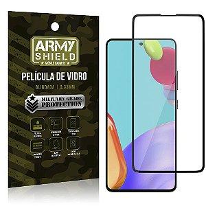"""Película de Vidro Blindada para Galaxy A52 tela 6,5"""" Full Cover - Armyshield"""