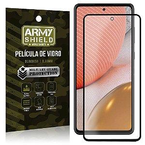 """Película de Vidro Blindada para Galaxy A72 tela 6,7"""" Full Cover - Armyshield"""