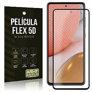 Película Flex 5D Cobre a Tela Toda Blindada Galaxy A72 - Armyshield