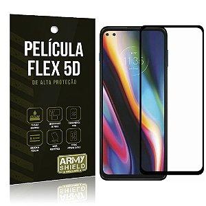 Película Flex 5D Cobre a Tela Toda Blindada Moto G 5G Plus - Armyshield