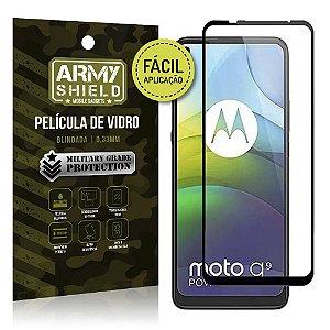Película de Vidro 3D para Moto G9 Power Fácil de aplicação - Armyshield