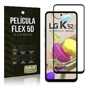 Película Flex 5D Cobre a Tela Toda Blindada LG K52 - Armyshield