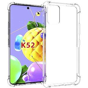 Capinha Silicone Anti Impacto LG K52 - Armyshield
