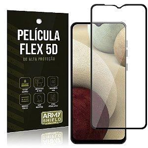 Película Flex 5D Cobre a Tela Toda Blindada Galaxy A12 - Armyshield