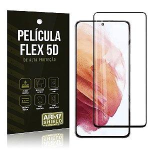 Película Flex Não Quebra Cobre a Tela Toda Blindada Galaxy S21 Plus - Armyshield